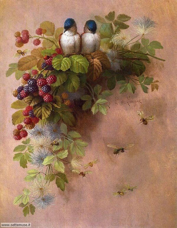 vasi di fiori Paul de Longpré