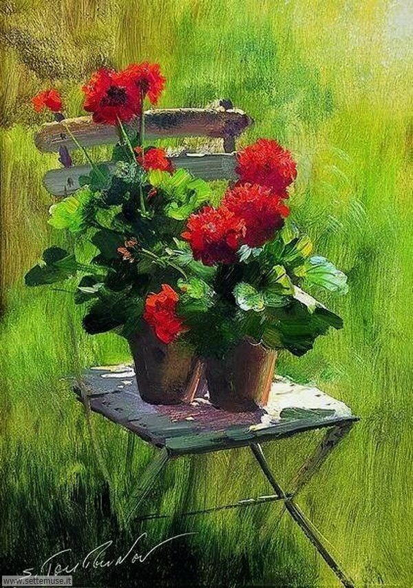 vasi di fiori Serguei Toutounov 2