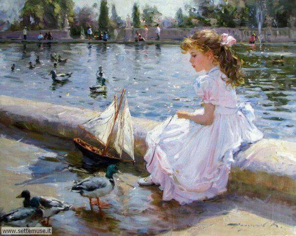 opere d arte bellissime sul tema delle mamme e dei bambini