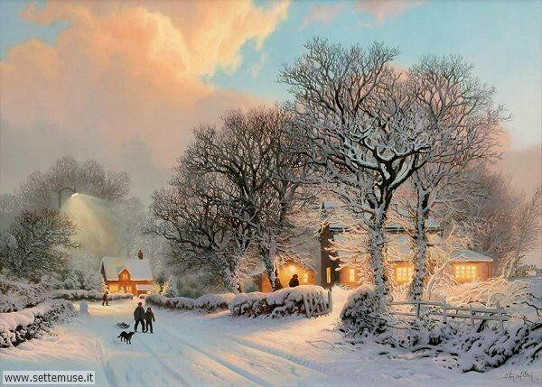 paesaggi con neve Ann Morton