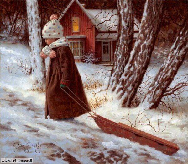 paesaggi con neve Jim Daly