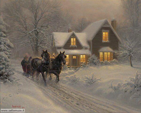 paesaggi con neve Mark Keathley