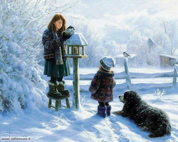 paesaggi con neve Robert-Duncan