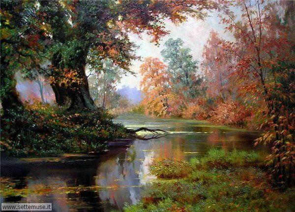 paesaggi romantici Alexander Milyukov