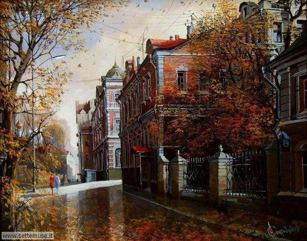 paesaggi romantici Alexander Starodubov