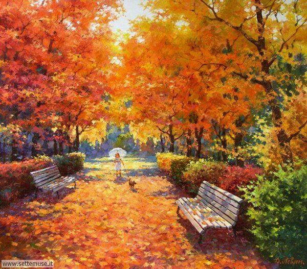 paesaggi romantici Dmitry Levin 2