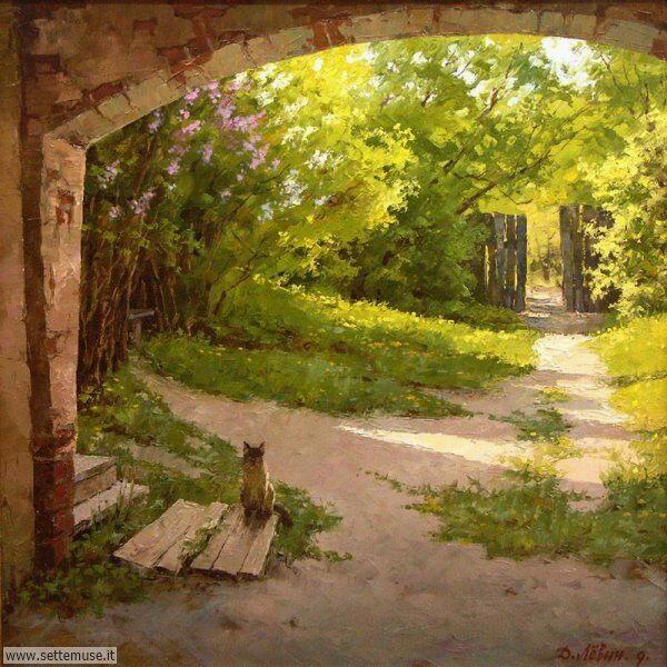 paesaggi romantici Dmitry Levin