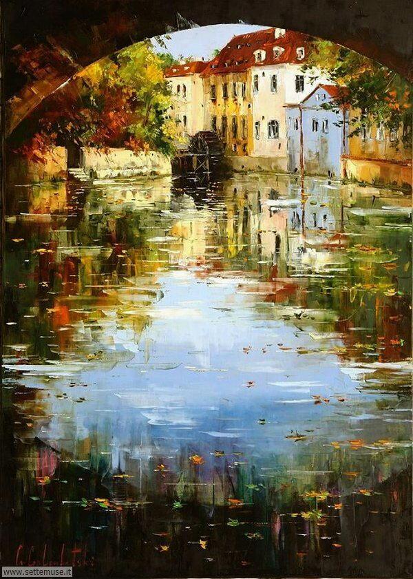 paesaggi romantici Gleb Goloubetski