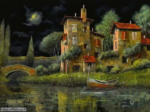 paesaggi romantici Guido Borelli