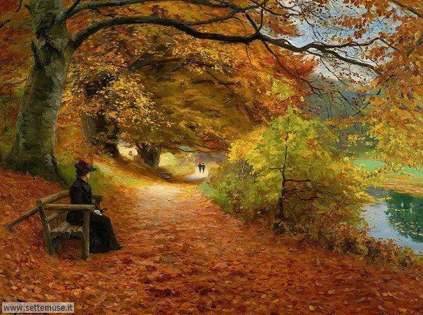 paesaggi romantici Hans Andersen Brendekilde