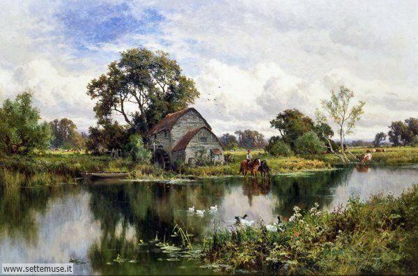 paesaggi romantici Henry Parker