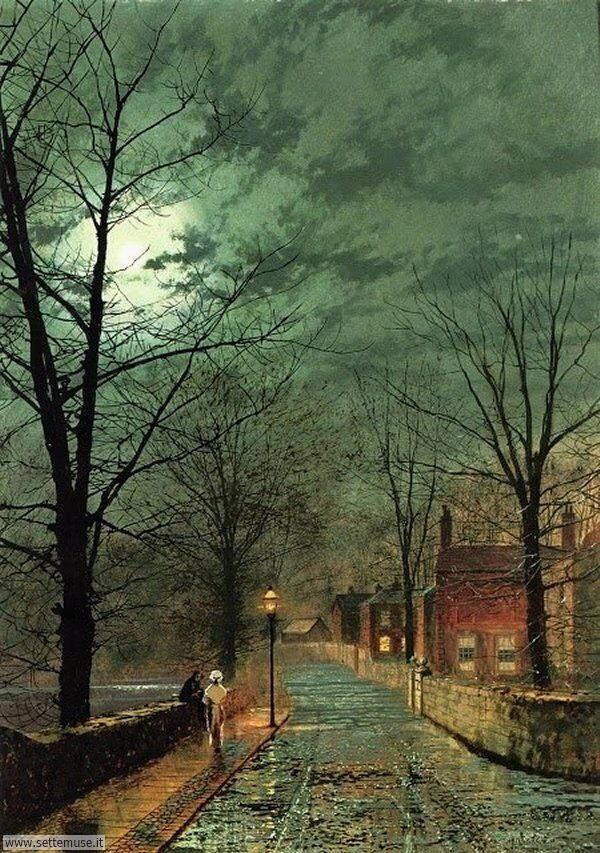 paesaggi romantici John Atkinson Grimshaw 2