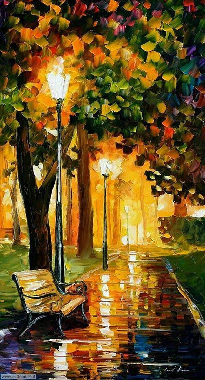 paesaggi romantici Leonid Afremov