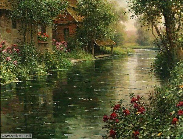 paesaggi romantici Louis Aston Knight