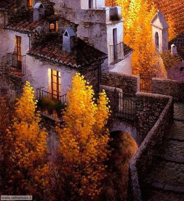 paesaggi romantici Luis Romero