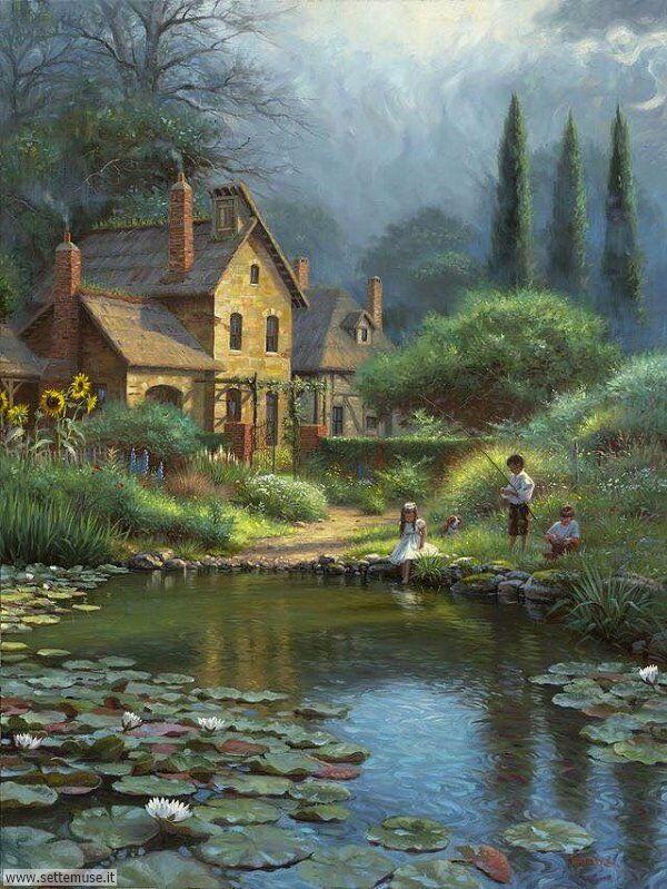 paesaggi romantici Mark Keathley