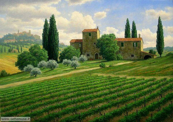paesaggi romantici Mark Pettit
