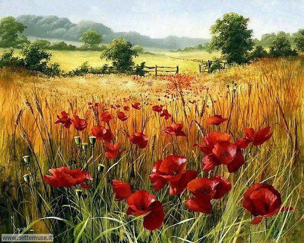 paesaggi romantici Mary Dipnall