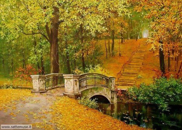 paesaggi romantici Oleg Shcherbakov