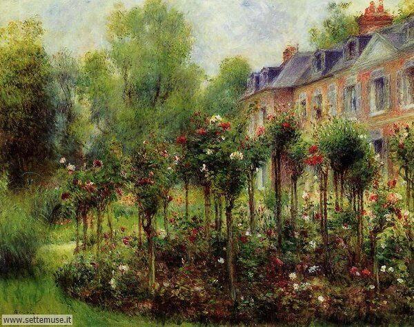 paesaggi romantici Pierre Auguste Renoir