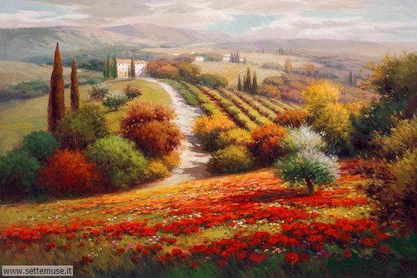 paesaggi romantici Roberto Lombardi