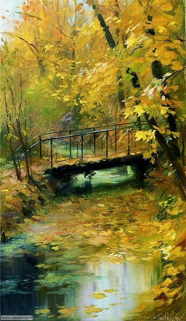 paesaggi romantici Serguei Toutounov