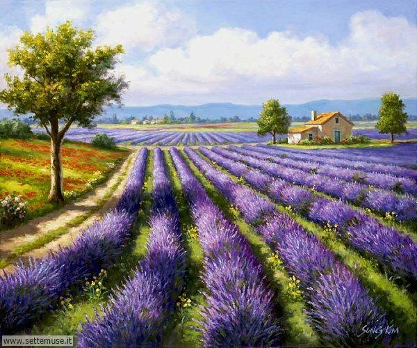 paesaggi romantici Sung Kim