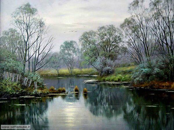 paesaggi romantici Valery Artamonov