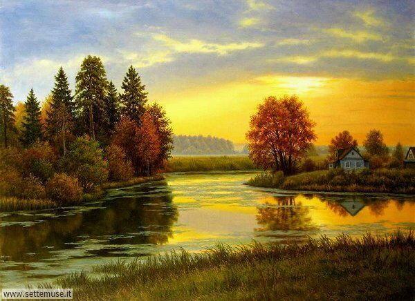 paesaggi romantici Vladislav Koshelev