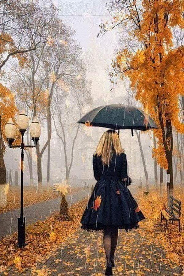 gente sotto la pioggia dipinti 6