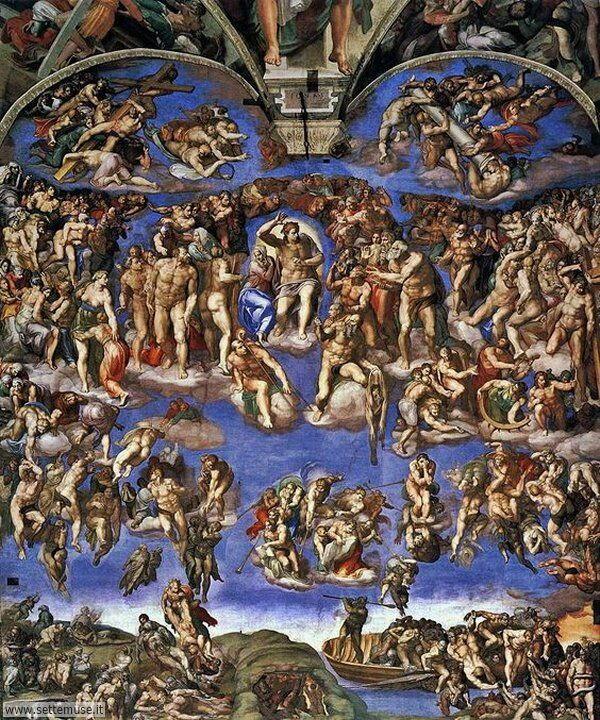 bellissimi affreschi Daniele da Volterra