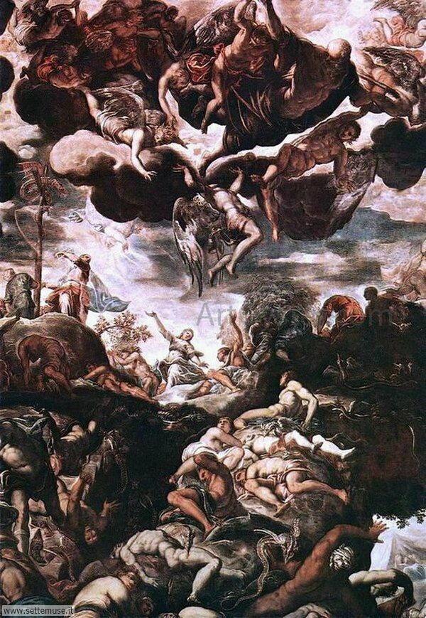 bellissimi affreschi Jacopo Robusti Tintoretto