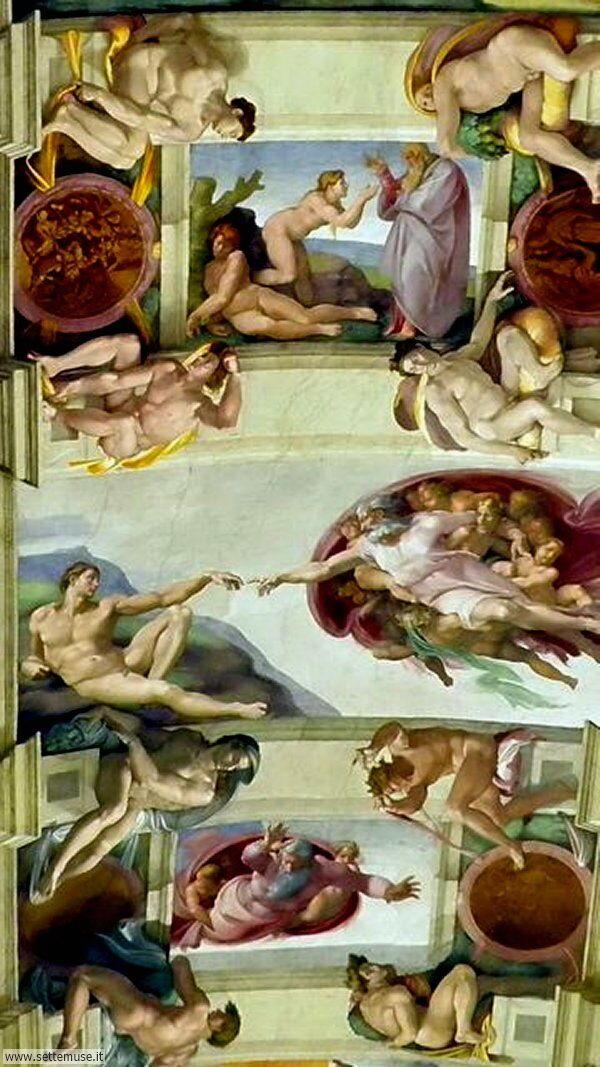 bellissimi affreschi vaticano