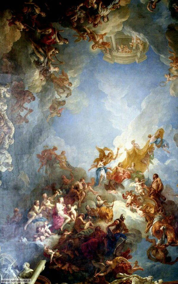 bellissimi affreschi versailles 2