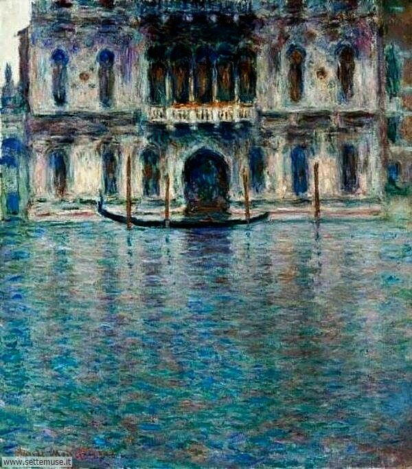 Venezia in arte Claude Monet