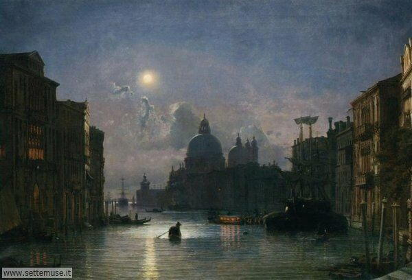 Venezia in arte Friedrich Paul Nerly