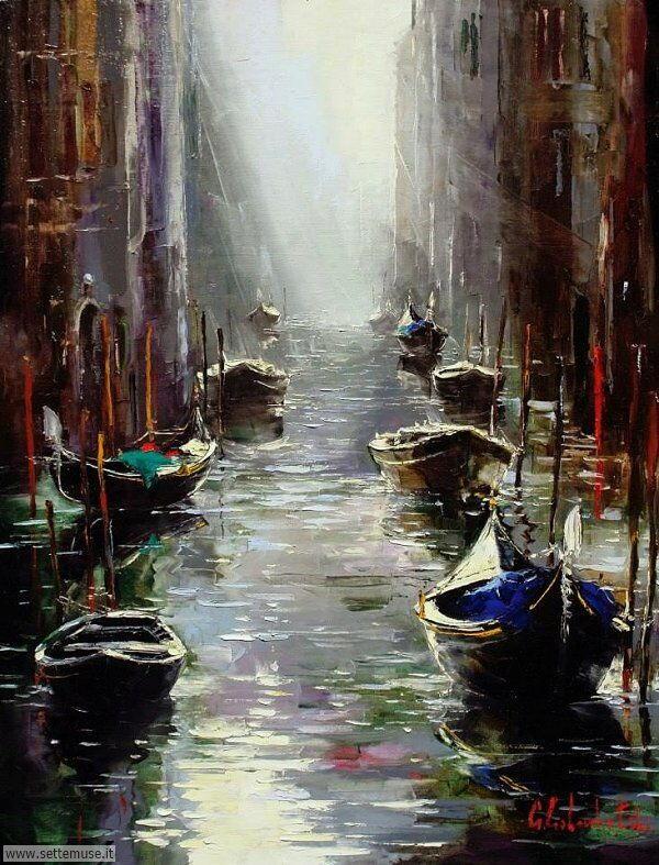 Venezia in arte Gleb Goloubetski