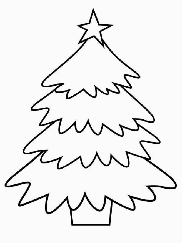 Immagini Dell Albero Di Natale Da Colorare.Disegno Albero Di Natale Frismarketingadvies