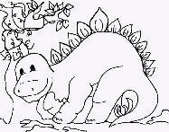 Disegni da colorare: dinosauri