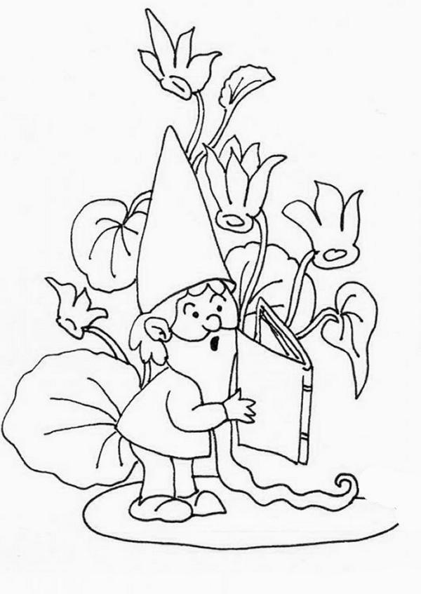 disegni da colorare tema nanetti  settemuseit