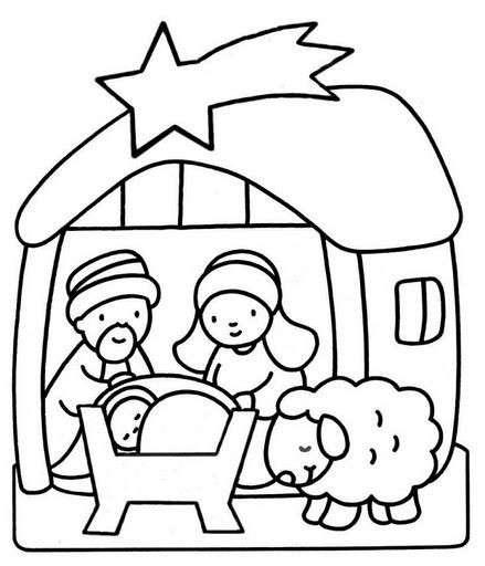 Capanna Gesù bambino