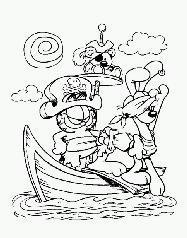 Disegni da colorare: pirati