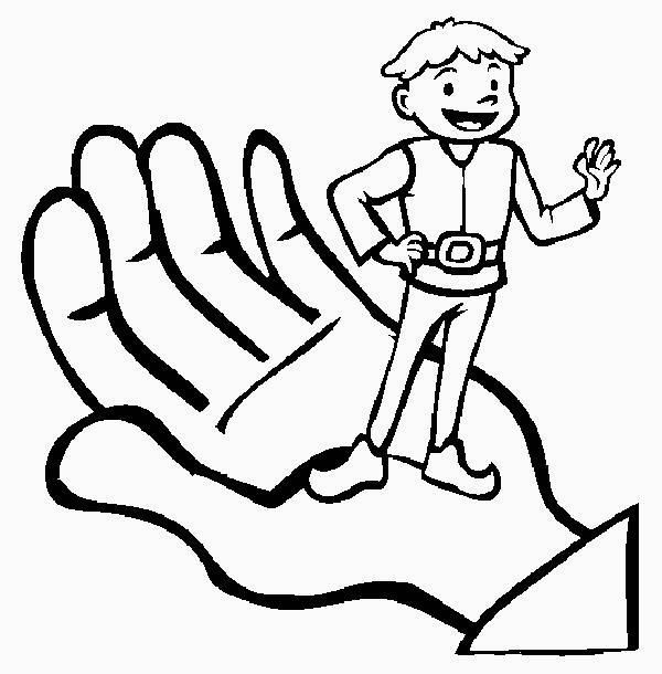 tom thumb coloring pages - photo#2