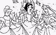 Disegni da colorare: principesse