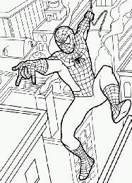 Disegni da colorare e stampare for Spiderman da colorare e stampare