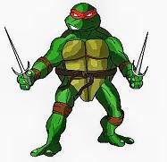 Disegni da colorare: tartarughe ninja