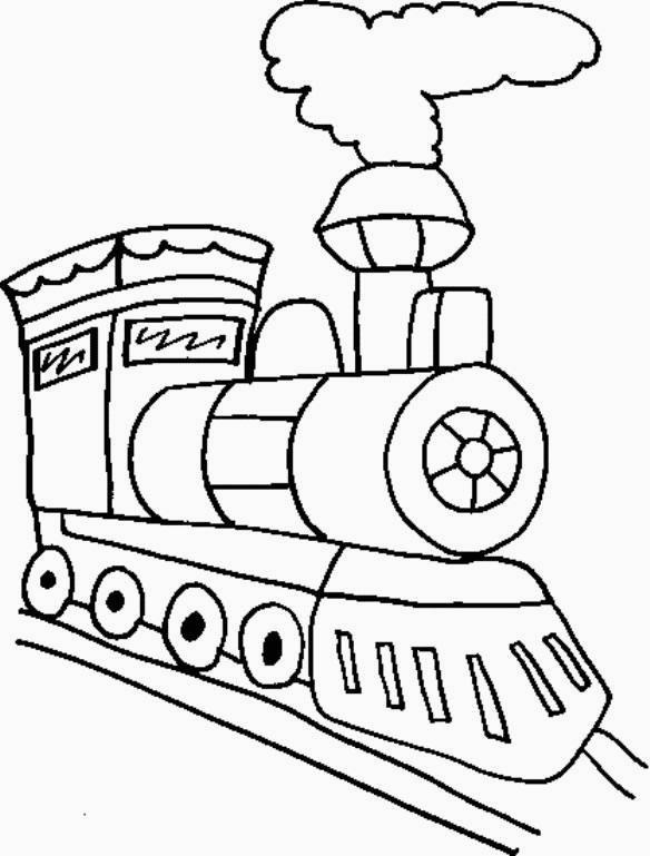 Disegni Da Colorare Tema Treni Settemuseit