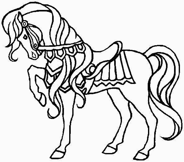 Disegni da colorare temi vari 2 for Disegno cavallo per bambini