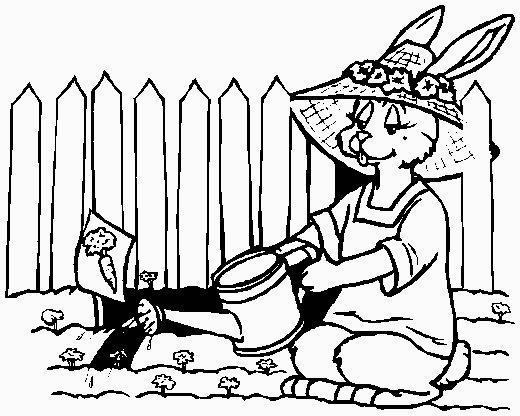 coniglietto giardiniere