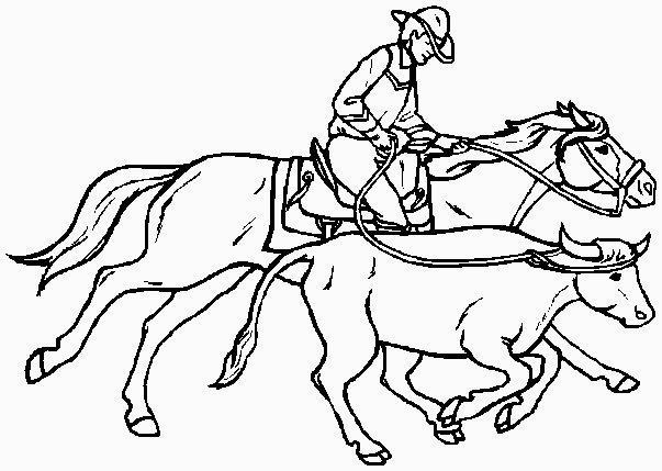 cowboy con lazo